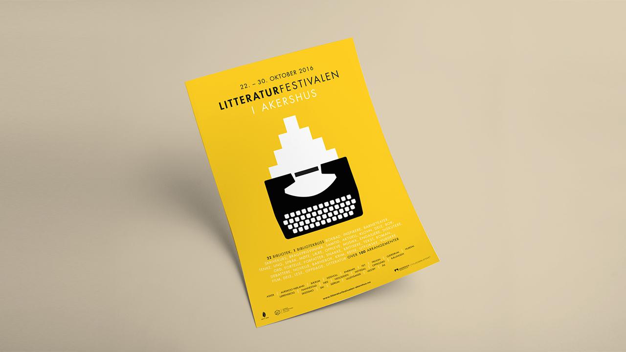13743a39 Litteraturfestivalen i Akershus er et samarbeid mellom Fylkesbiblioteket i  Akershus og kommunene i Akershus. Gjennom felles innsats er målet å skape