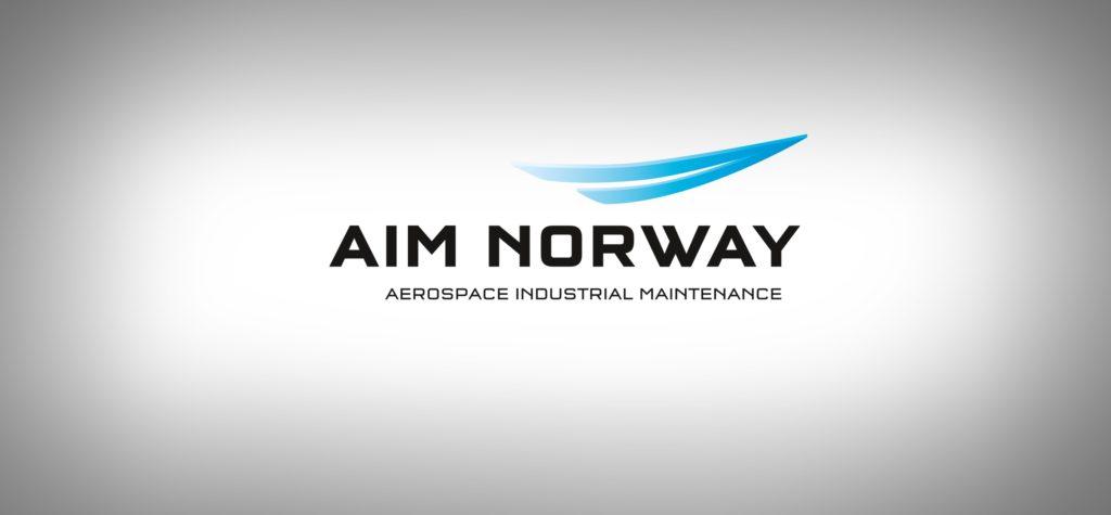 Logoen til AIM Norway. Illustrasjon.