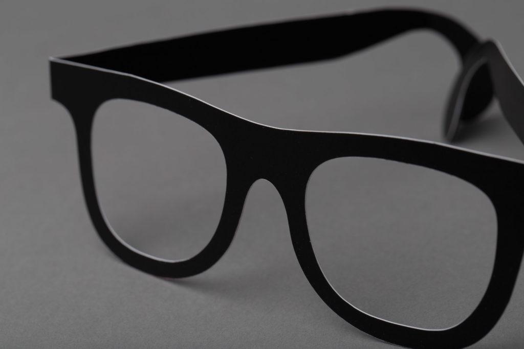 Papirbriller til event