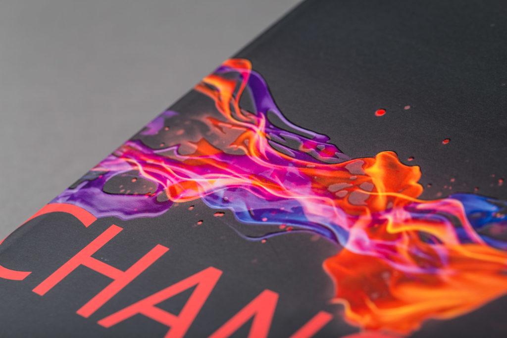 Brosjyre med digitaltrykk