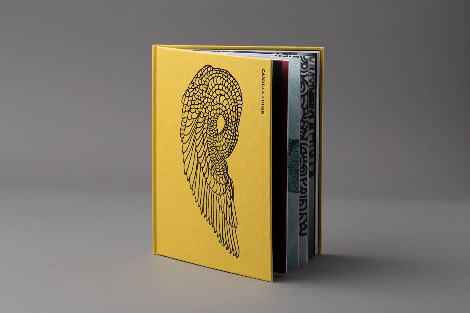 Hardcover bok med kunsttrykk