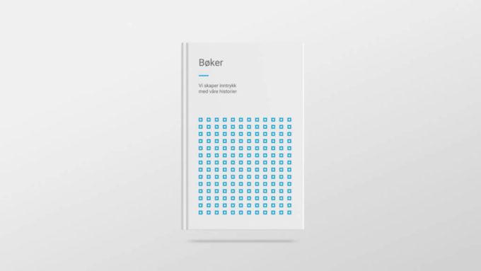 Bokdesign med 07 sine profilelementer. Illustrasjonsbilde.