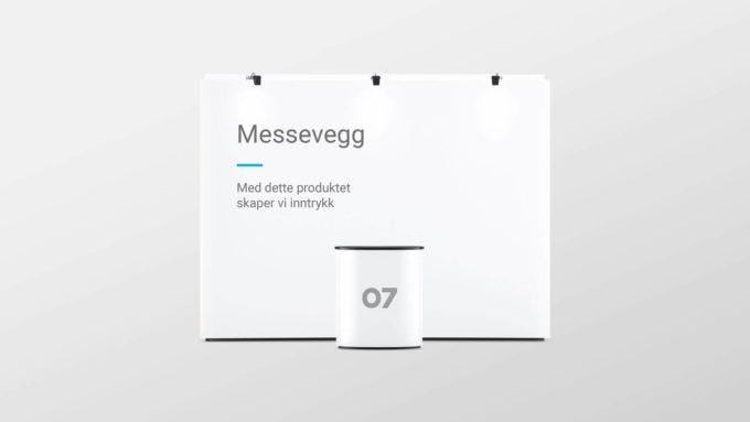 Forskjellige messemateriell; messevegg og stand-bord i 07 profil. Illustrasjonsbilde.
