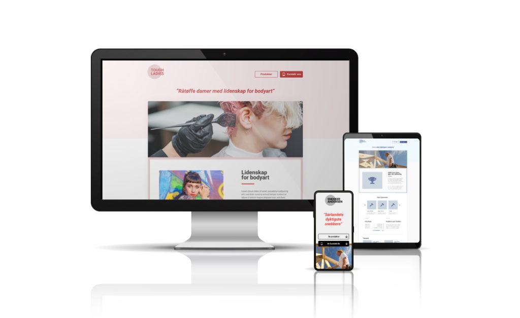 Nyhet: Bestill ny nettside enkelt online